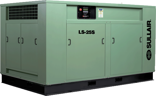 Sullair LS25S single-stage rotary screw air compressor