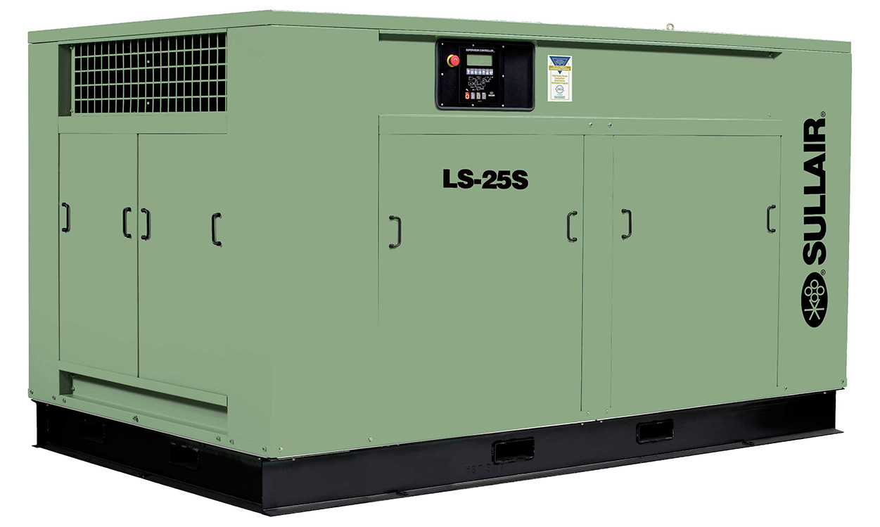 Sullair LS25S industrial air compressor